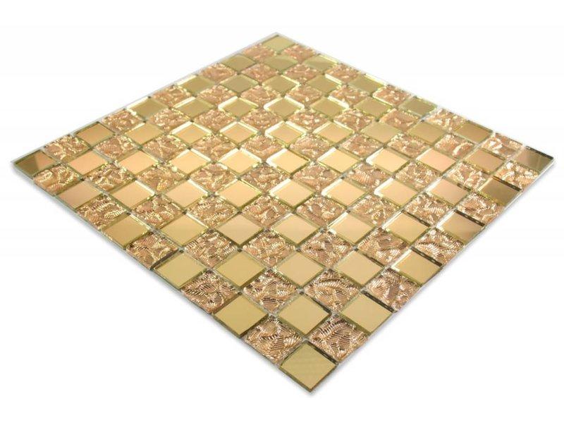 glasmosaik fliesen philadelphia spiegel gold gold. Black Bedroom Furniture Sets. Home Design Ideas