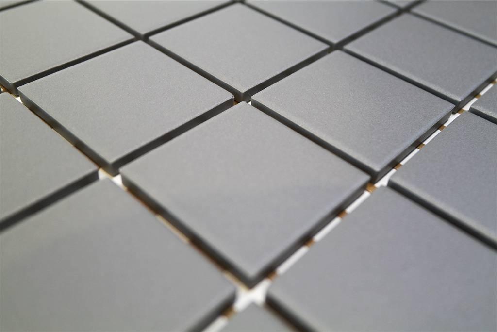 bÄrwolf keramik mosaikfliesen ug-5029 grip grau - mosaic outlet, Hause deko