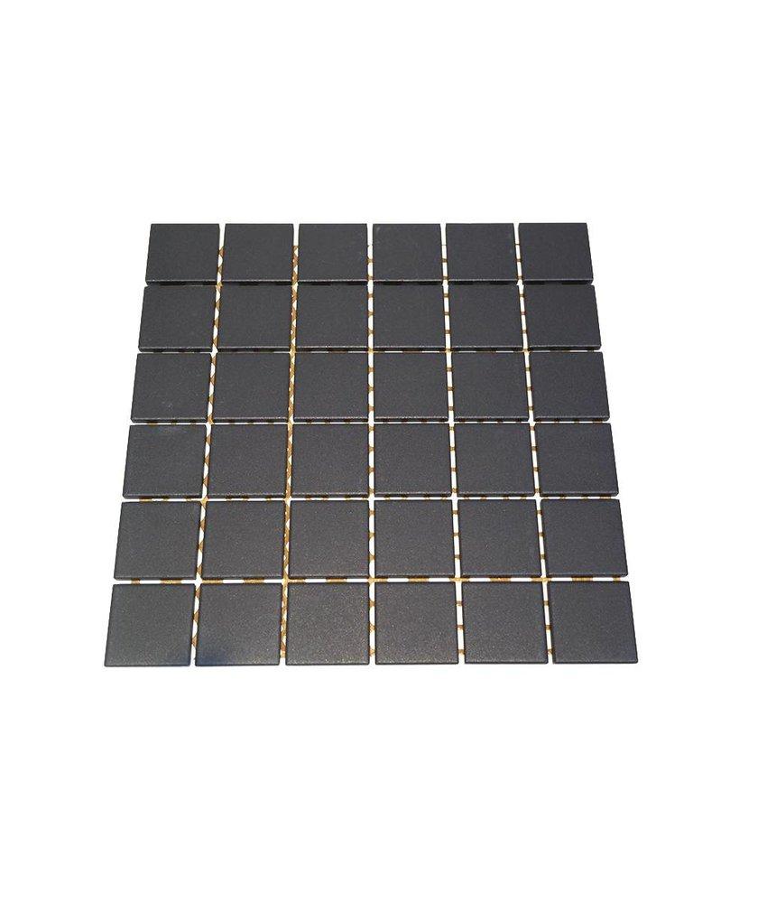 Keramik Mosaikfliesen UG-5017 Grip black