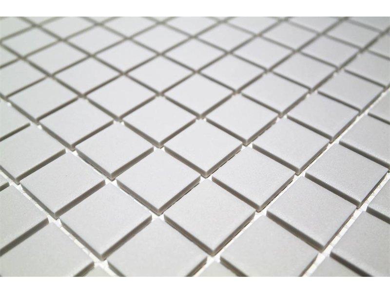 BÄRWOLF Keramik Mosaikfliesen UG-2010 Grip white