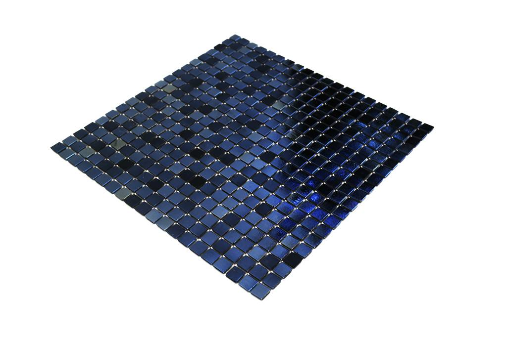 BÄRWOLF GlasmosaikFliesen GLK Reflex Black Mosaic Outlet - Frostsichere fliesen restposten