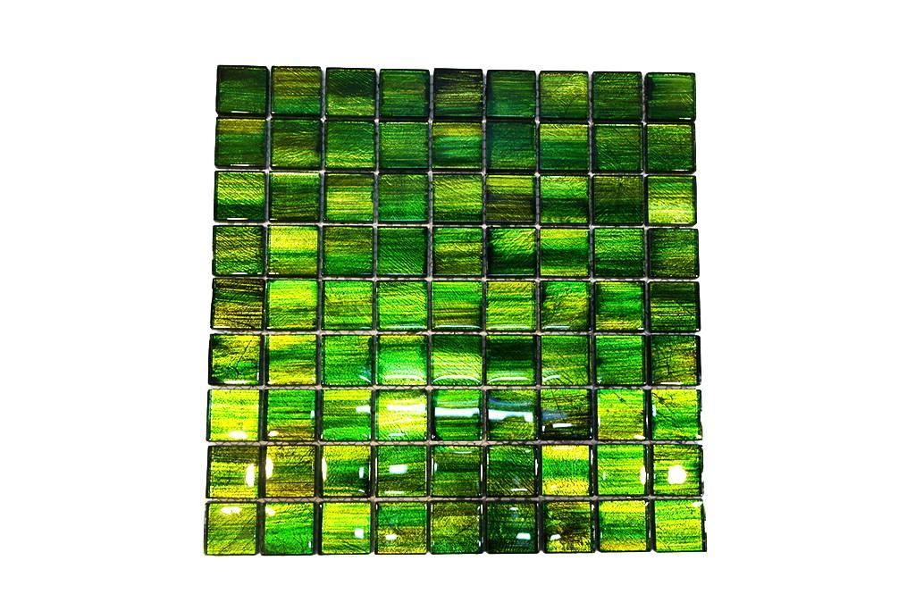 BÄRWOLF Glasmosaik Fliesen GL emerald green Mosaic
