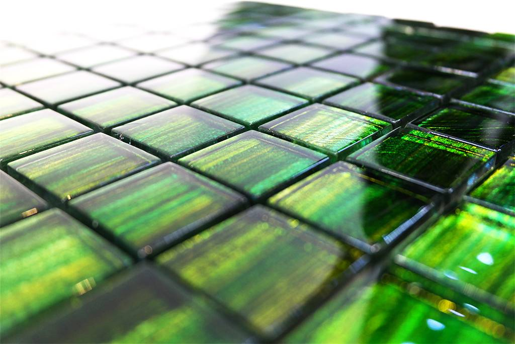 b rwolf glasmosaik fliesen gl 13001 emerald green mosaic outlet. Black Bedroom Furniture Sets. Home Design Ideas
