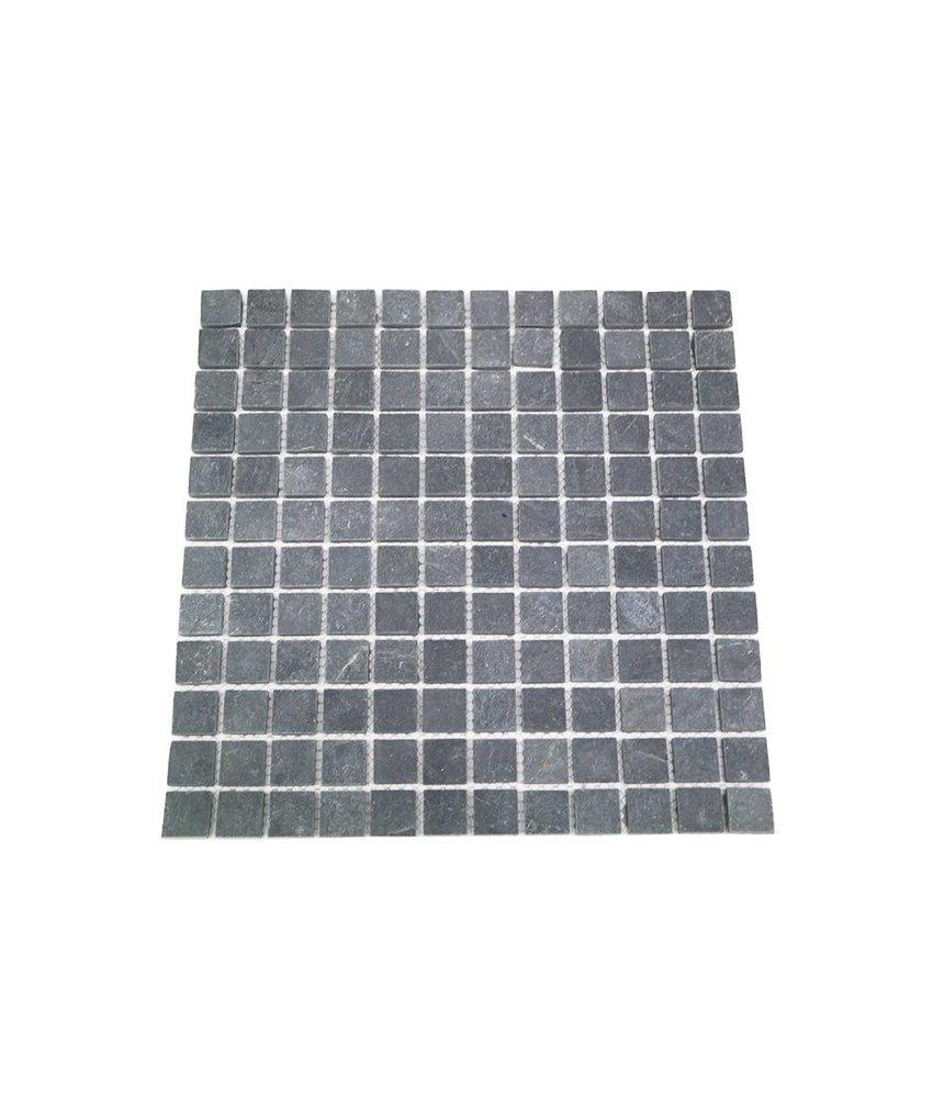 Naturstein Mosaikfliesen CM-7114 dark grey