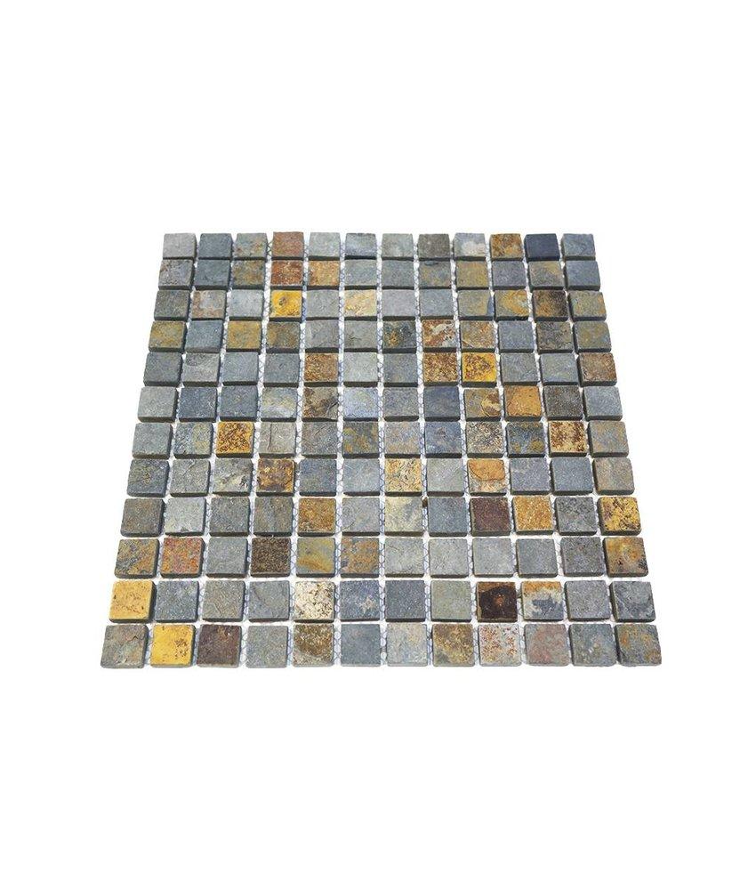 Naturstein Mosaikfliesen CM-7112 rustic