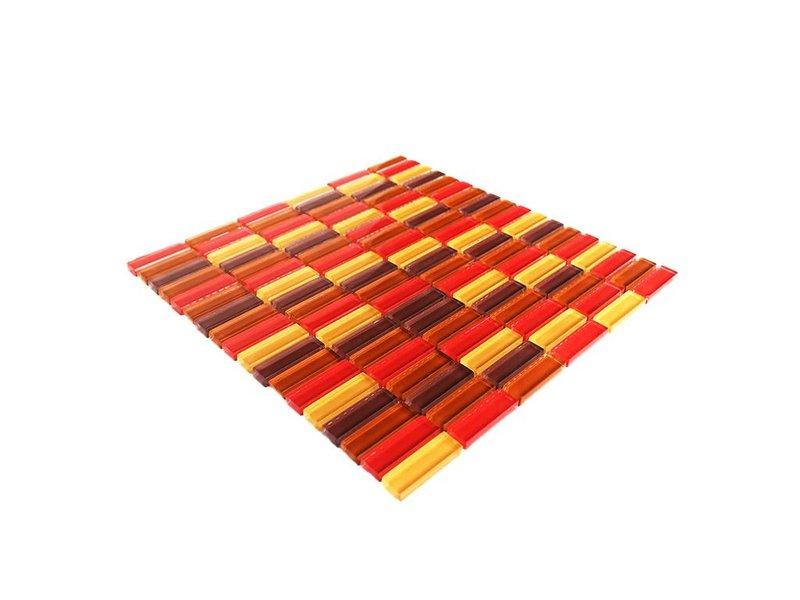 glasmosaik fliesen rot beige braun mix g034. Black Bedroom Furniture Sets. Home Design Ideas