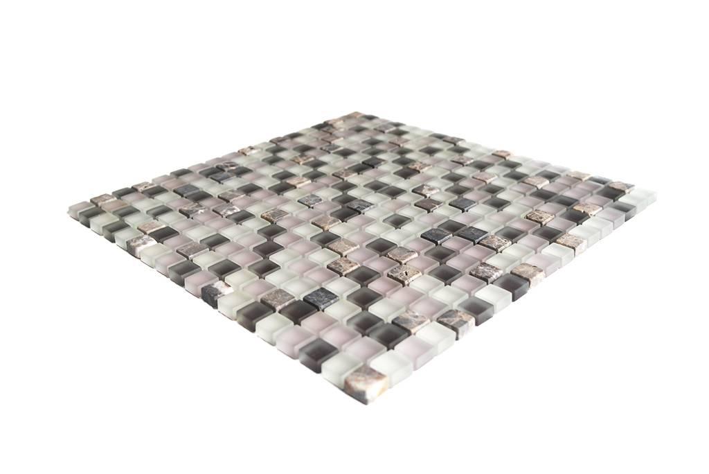 mosaikfliesen glas naturstein wei rosa braun mix g104 mosaic outlet. Black Bedroom Furniture Sets. Home Design Ideas