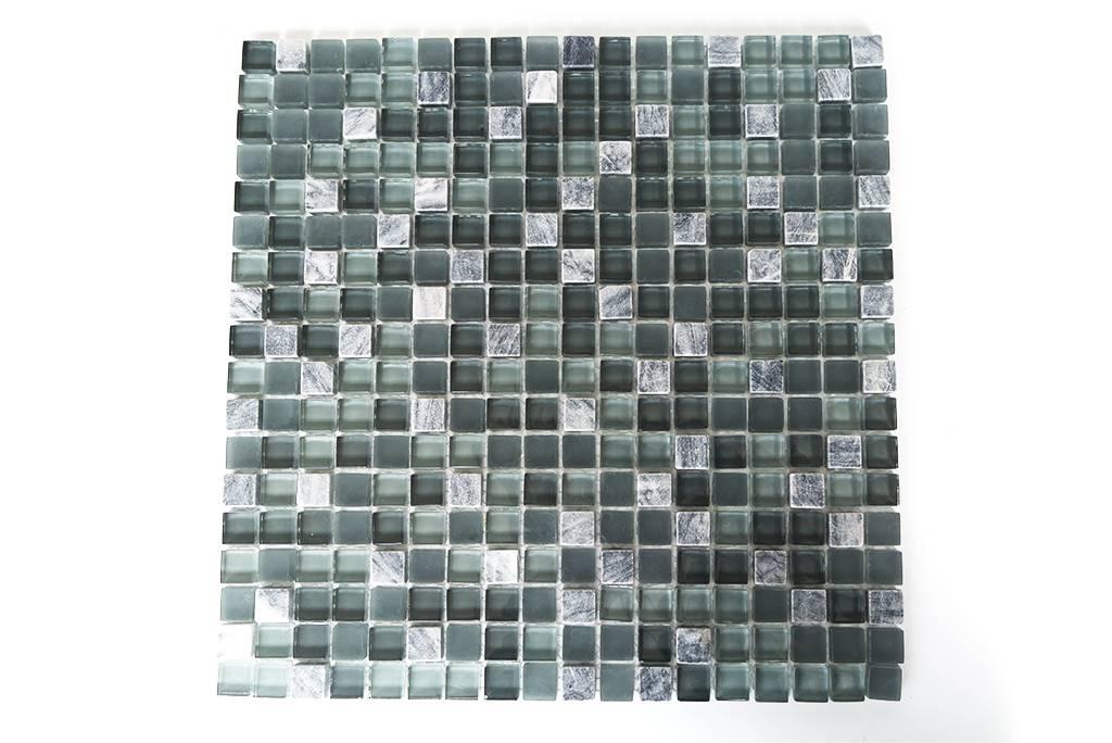 Mosaik Fliesen Rot Grau Glas Naturstein Mosaik Grau Grun Gunstig