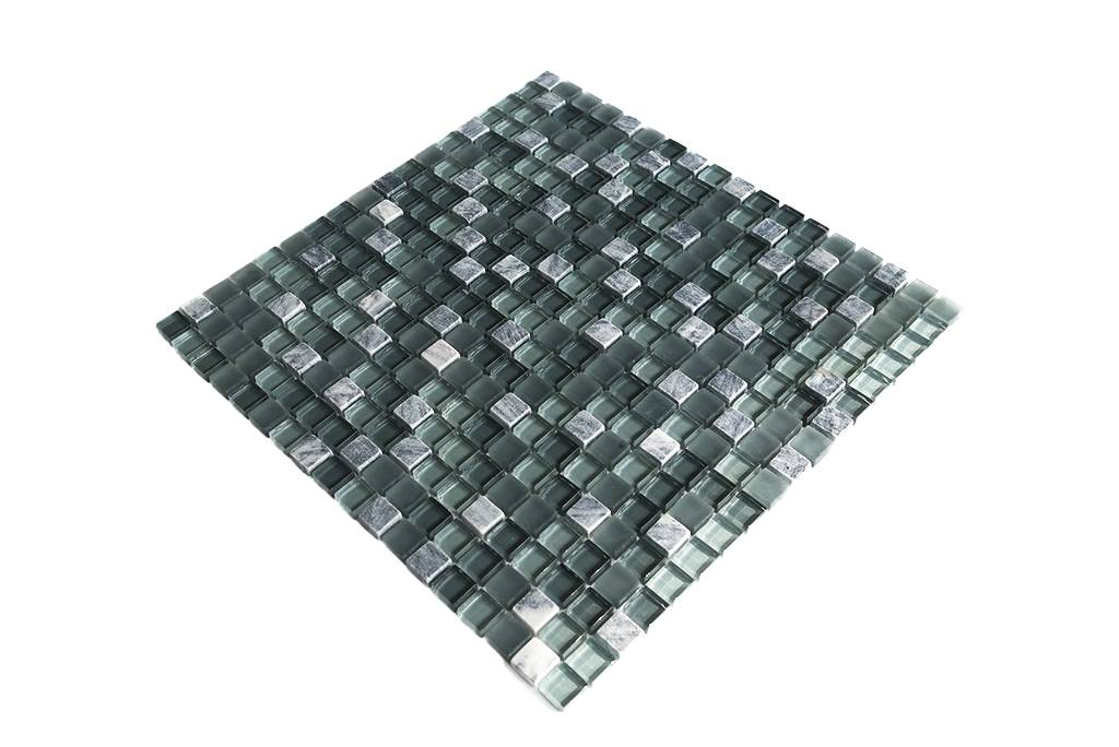 mosaikfliesen grau mix g105 mosaic outlet. Black Bedroom Furniture Sets. Home Design Ideas