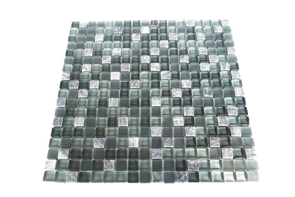 MOSAIKFLIESEN Grau Mix G Mosaic Outlet - Mosaik fliesen grau mix