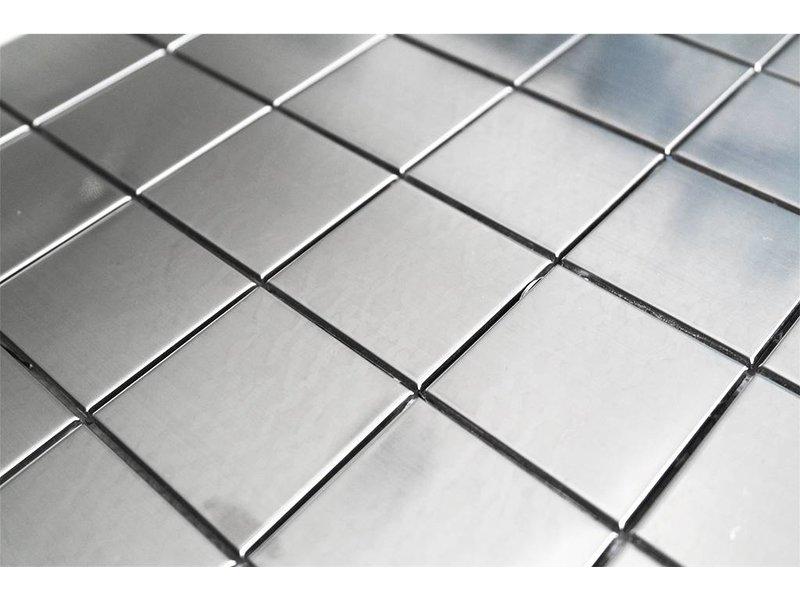 Edelstahl mosaikfliesen silber ed4848 mosaic outlet - Mosaikfliesen silber ...