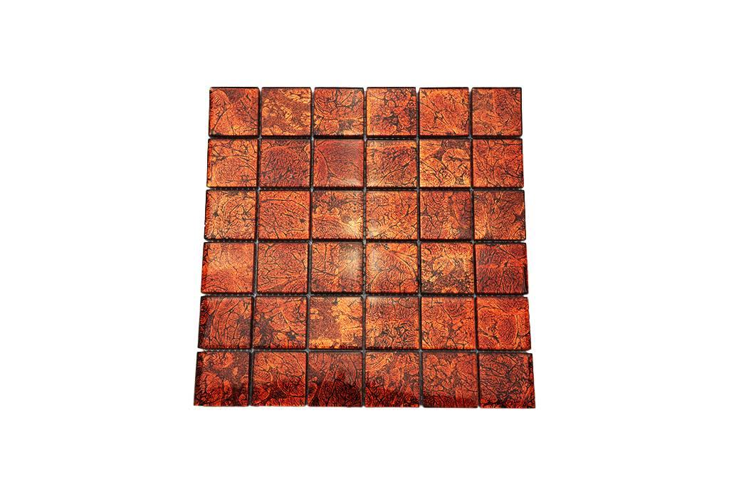 Glasmosaik fliesen orange metallic gm4840 mosaic outlet - Metallic fliesen ...
