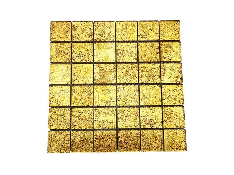 Glasmosaik fliesen gold gm4837 mosaic outlet for Glasmosaik fliesen