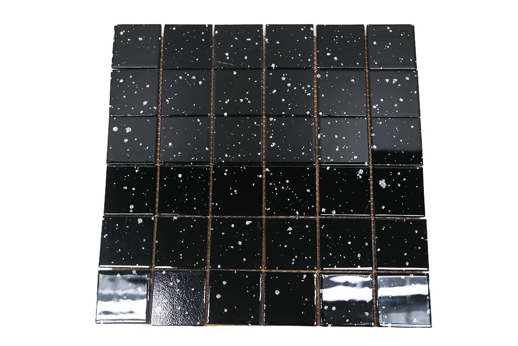 Fliese Mit Glitzer Eur Glitzer Silber Fliesen Glas - Bodenfliesen glitzereffekt