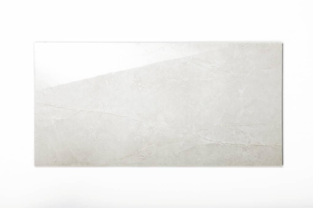 Wandfliesen rektifiziert alabastro grau gl nzend 30x60 for Wandfliesen grau