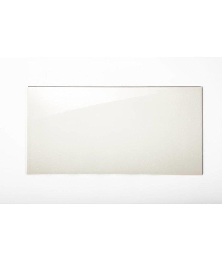 Wandfliesen rektifiziert - hellcreme glänzend - 30x60 cm