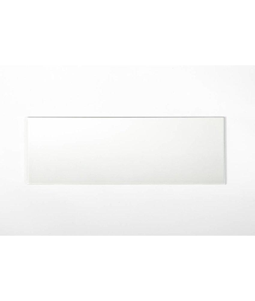 Wandfliesen rektifiziert - weiß matt - 30x90 cm