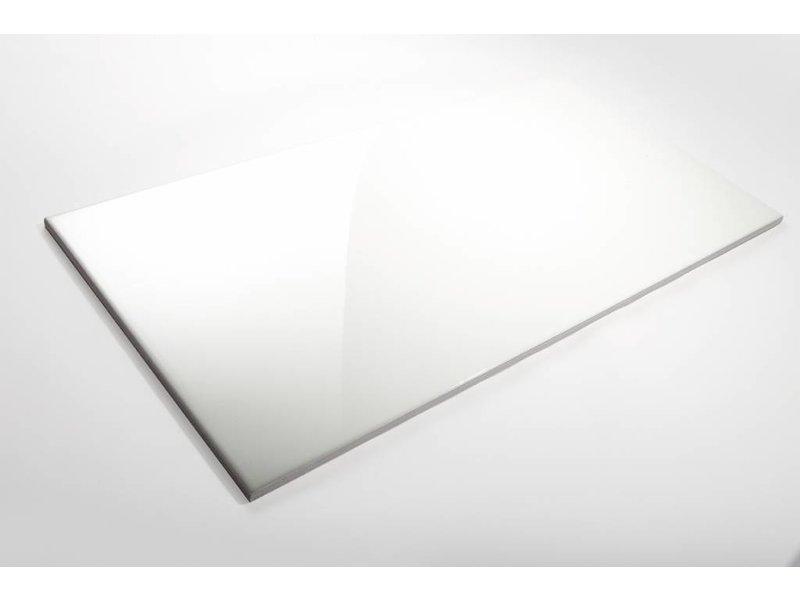 Wandfliesen Rektifiziert Weiss Glanzend 45x90 Cm Mosaic Outlet