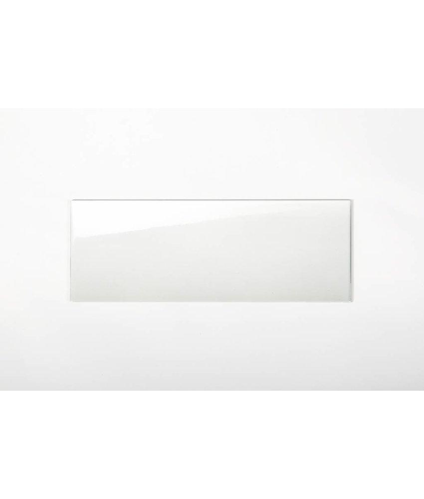 Wandfliesen nicht rektifiziert - weiß glänzend - 25x70 cm