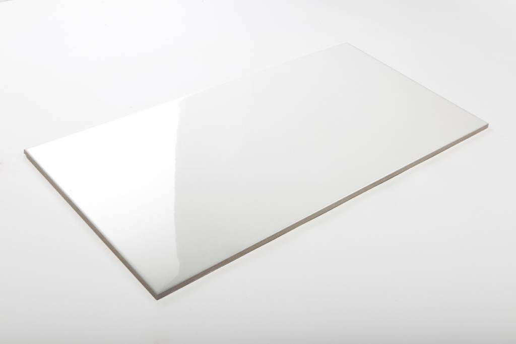 wandfliesen nicht rektifiziert wei gl nzend 25x50 cm. Black Bedroom Furniture Sets. Home Design Ideas