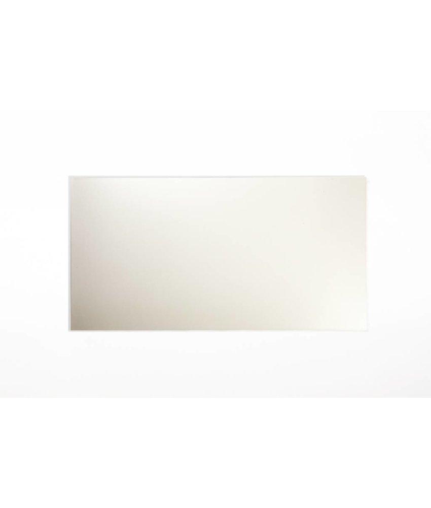 Wandfliesen nicht rektifiziert - hellcreme matt - 25x50 cm