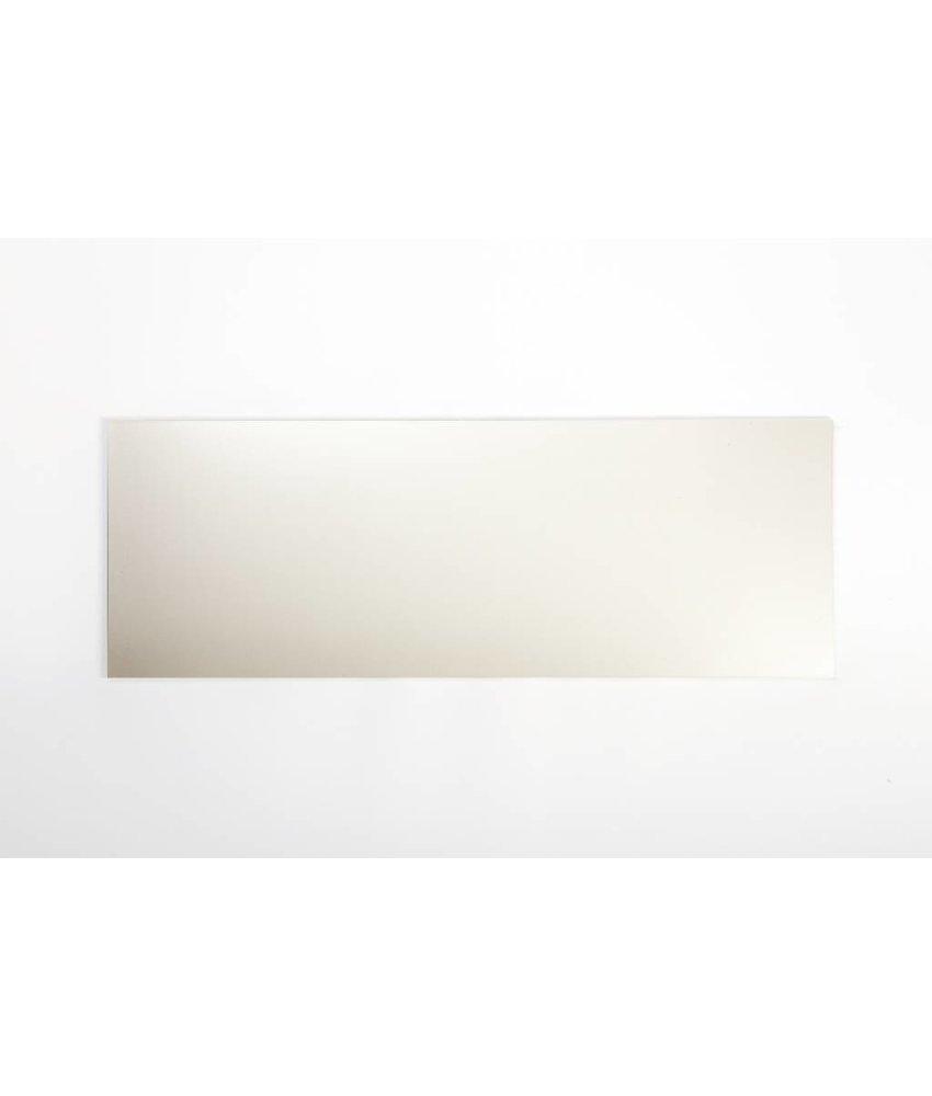 Wandfliesen nicht rektifiziert - hellcreme matt - 20x60 cm