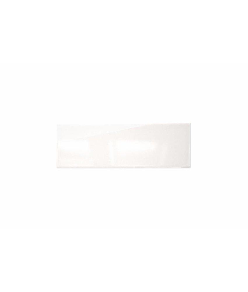 Metro Fliesen 9,7x29,7 cm - weiß glänzend - 10x30 cm