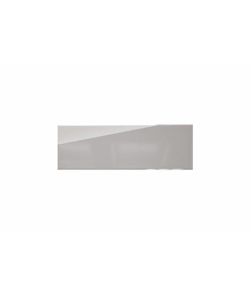 Metro Fliesen 9,7x29,7 cm - hellgrau glänzend - 10x30 cm