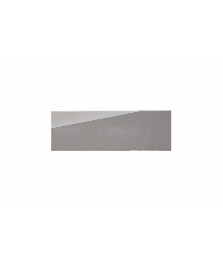 Metro Fliesen 9,7x29,7 cm - grau glänzend - 10x30 cm