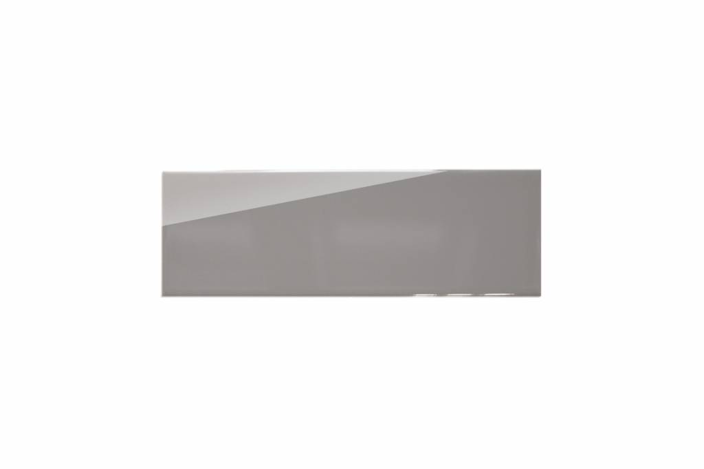 Metro Fliesen X Cm Grau Glänzend X Cm Mosaic Outlet - Fliesen grau glänzend