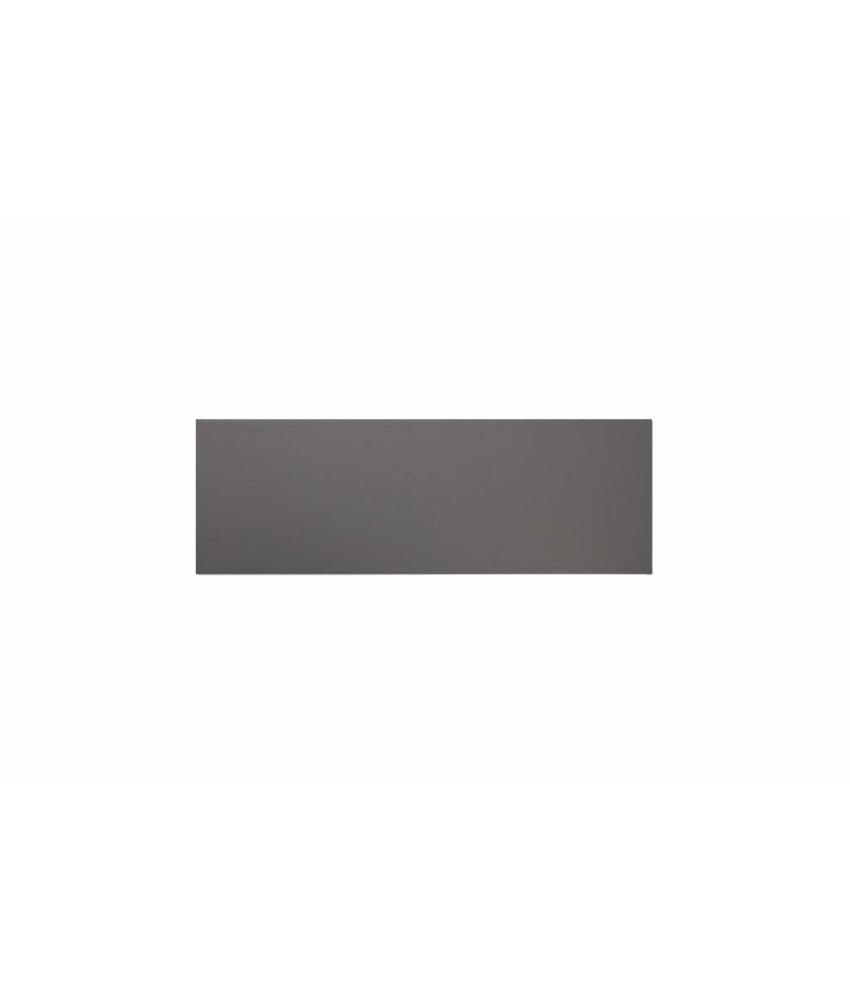 Metro Fliesen 9,7x29,7 cm - dunkelgrau matt - 10x30 cm