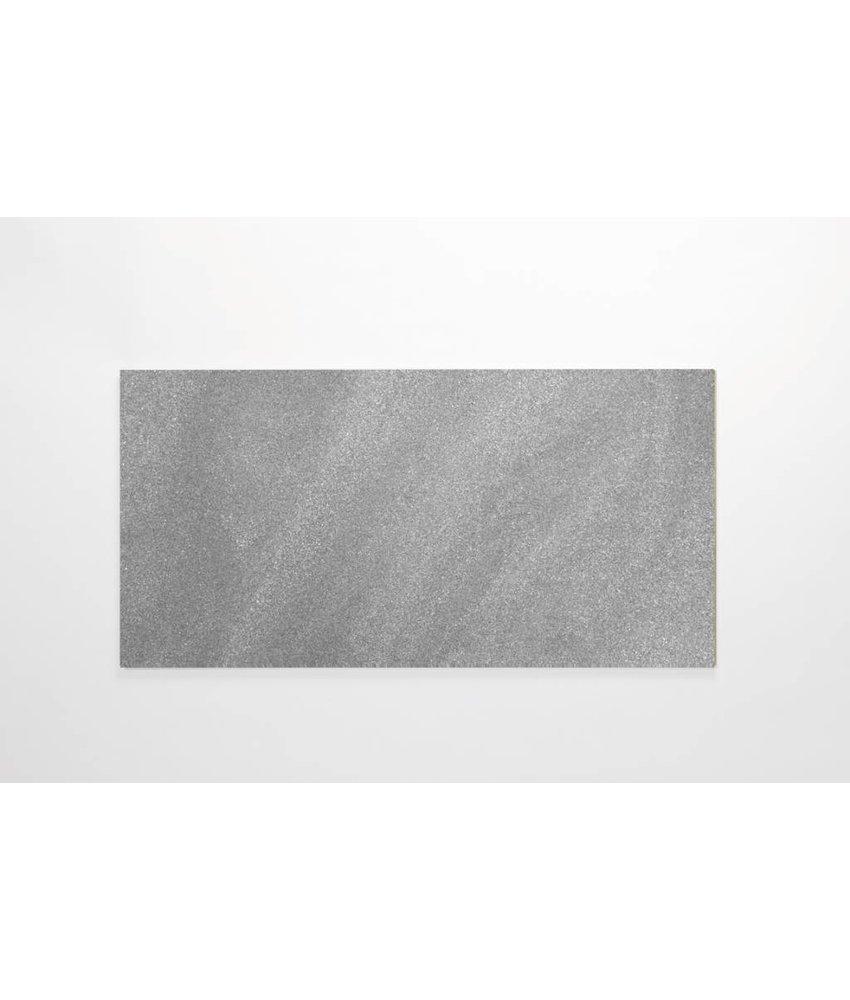 Feinsteinzeug Double Loading - Chroma grau matt - 30x60 cm