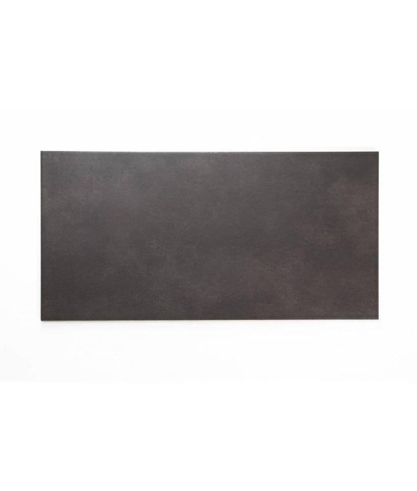 Feinsteinzeug glasiert nicht rektifiziert - PRAG graphit - 30x60 cm