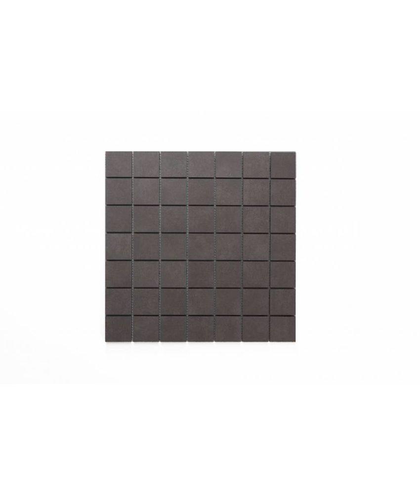 Feinsteinzeug Mosaik - PRAG graphit - 5x5 cm