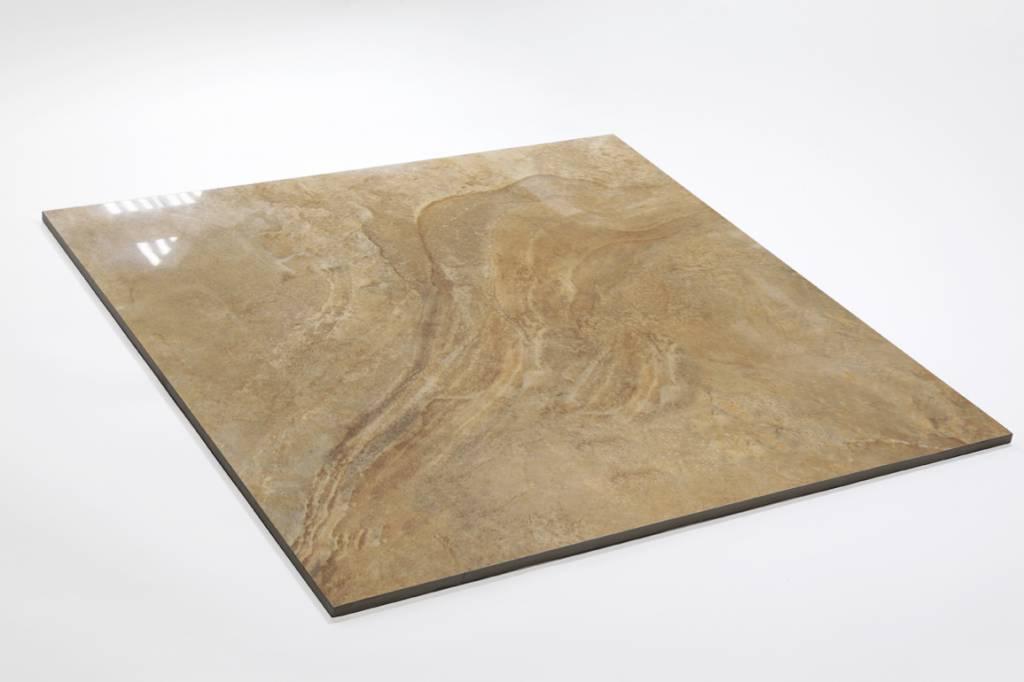Feinsteinzeug Glasiert Und Poliert LEA Gold X Cm Mosaic Outlet - Fliesen glasiert oder poliert