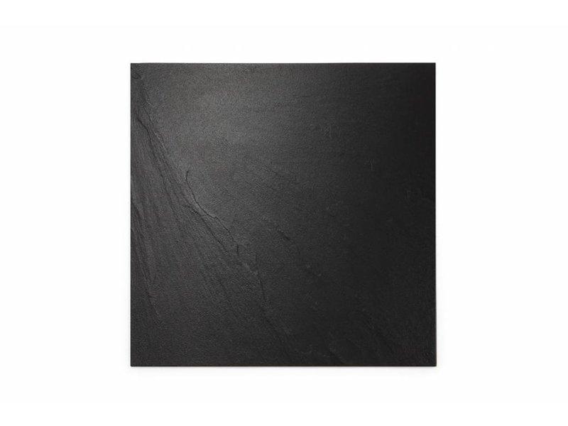 feinsteinzeug unglasiert schiefer schwarz 60x60 cm. Black Bedroom Furniture Sets. Home Design Ideas