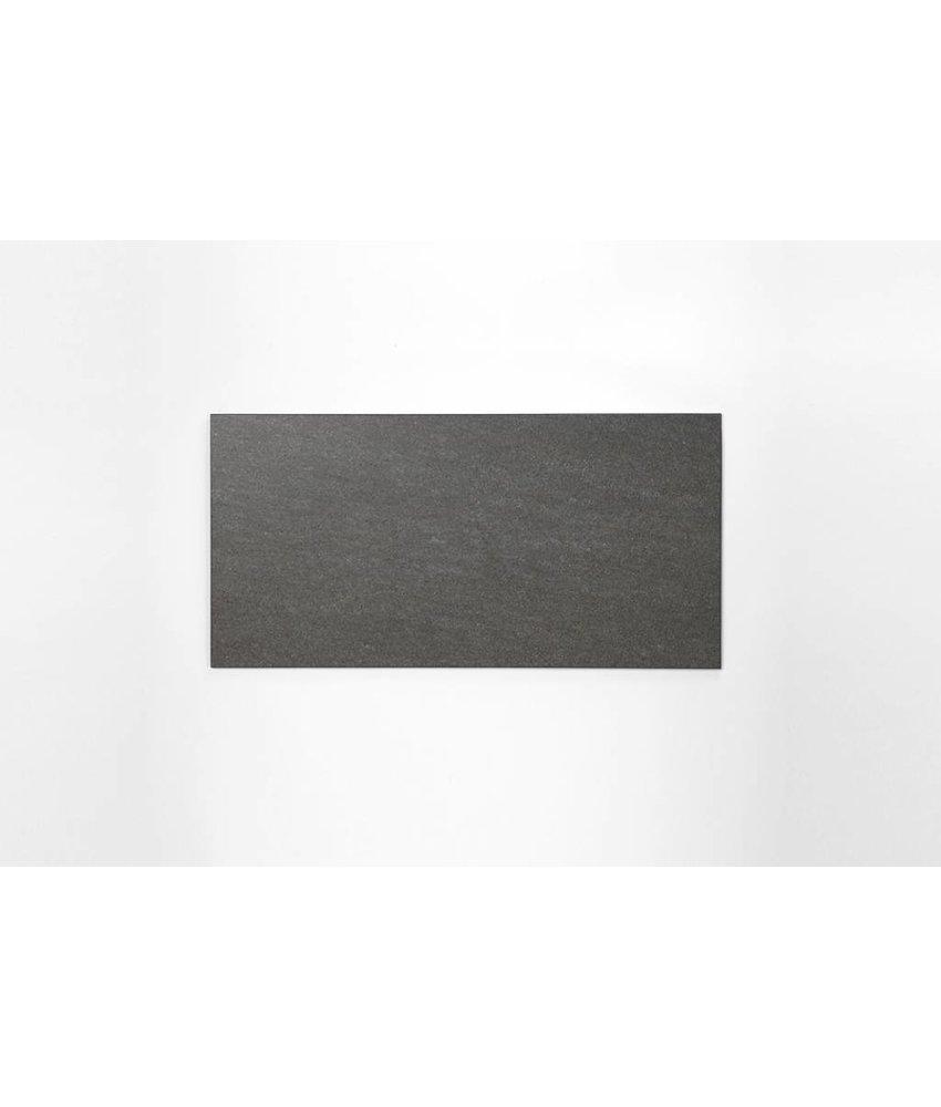 Feinsteinzeug unglasiert - PICCADILLY dunkelgrau - 30x60 cm