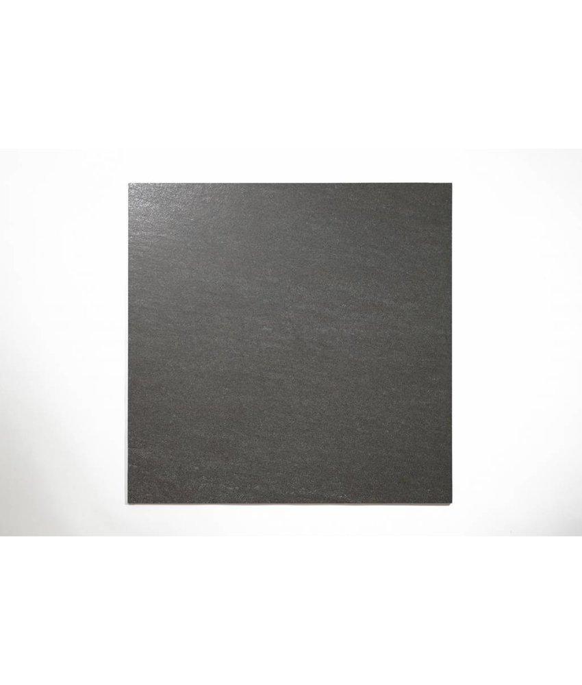 Feinsteinzeug unglasiert - PICCADILLY dunkelgrau - 60x60 cm