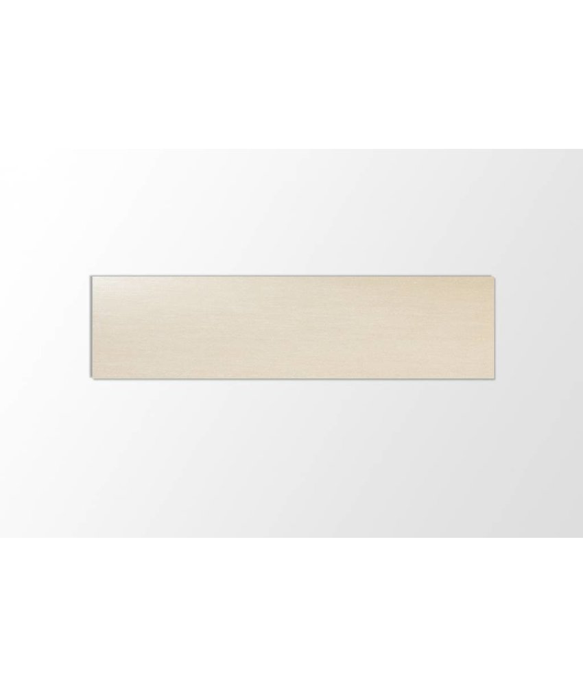 Feinsteinzeug unglasiert - PICCADILLY hellbeige slim - 30x120x0,48 cm