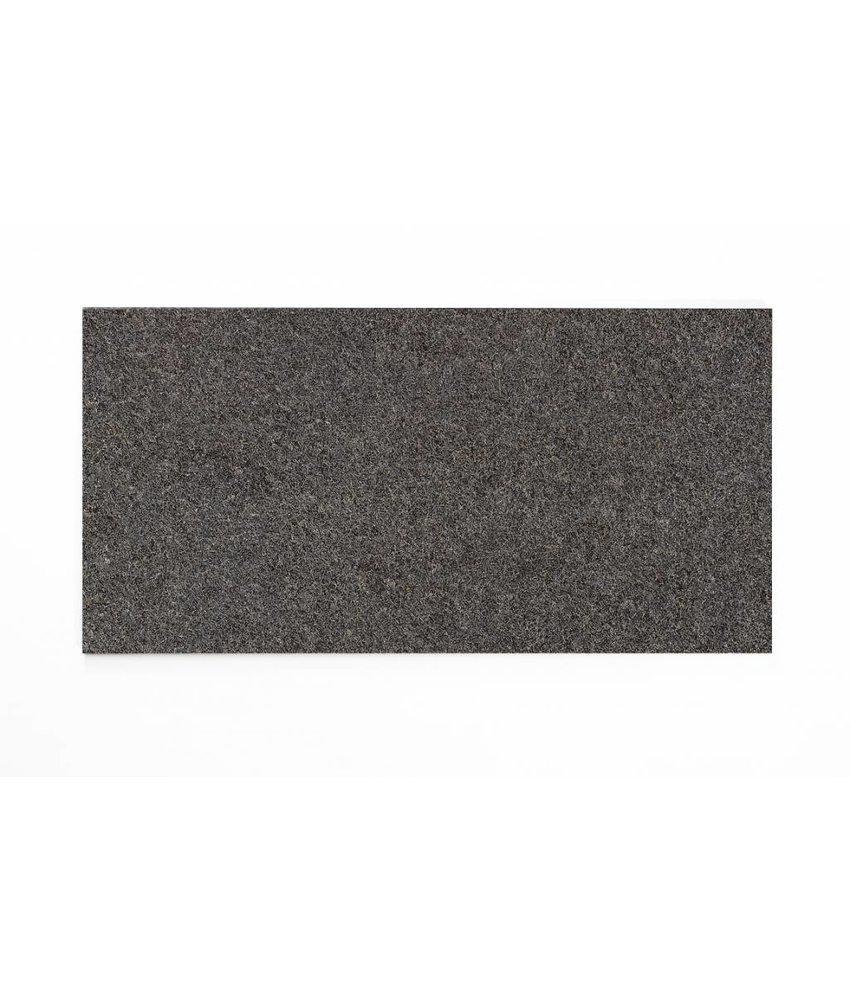 Feinsteinzeug glasiert - TERRA +Cloud Noir (schwarz) - 30x60 cm