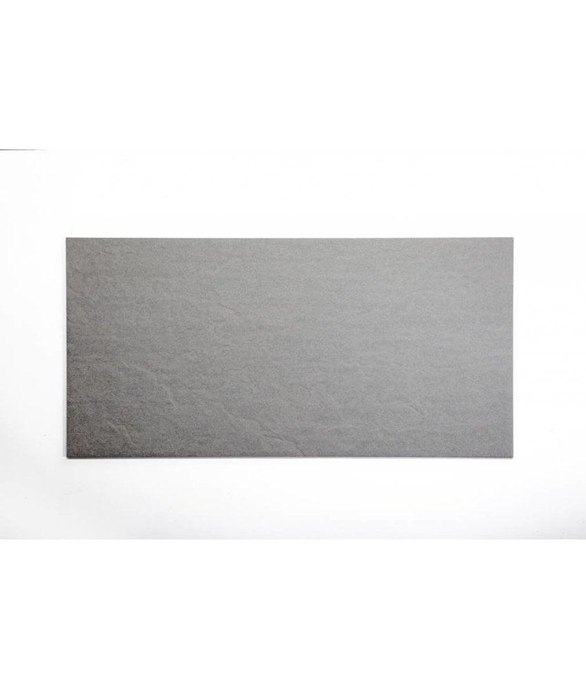 Feinsteinzeug unglasiert - VULCANO grau - 30x60 cm