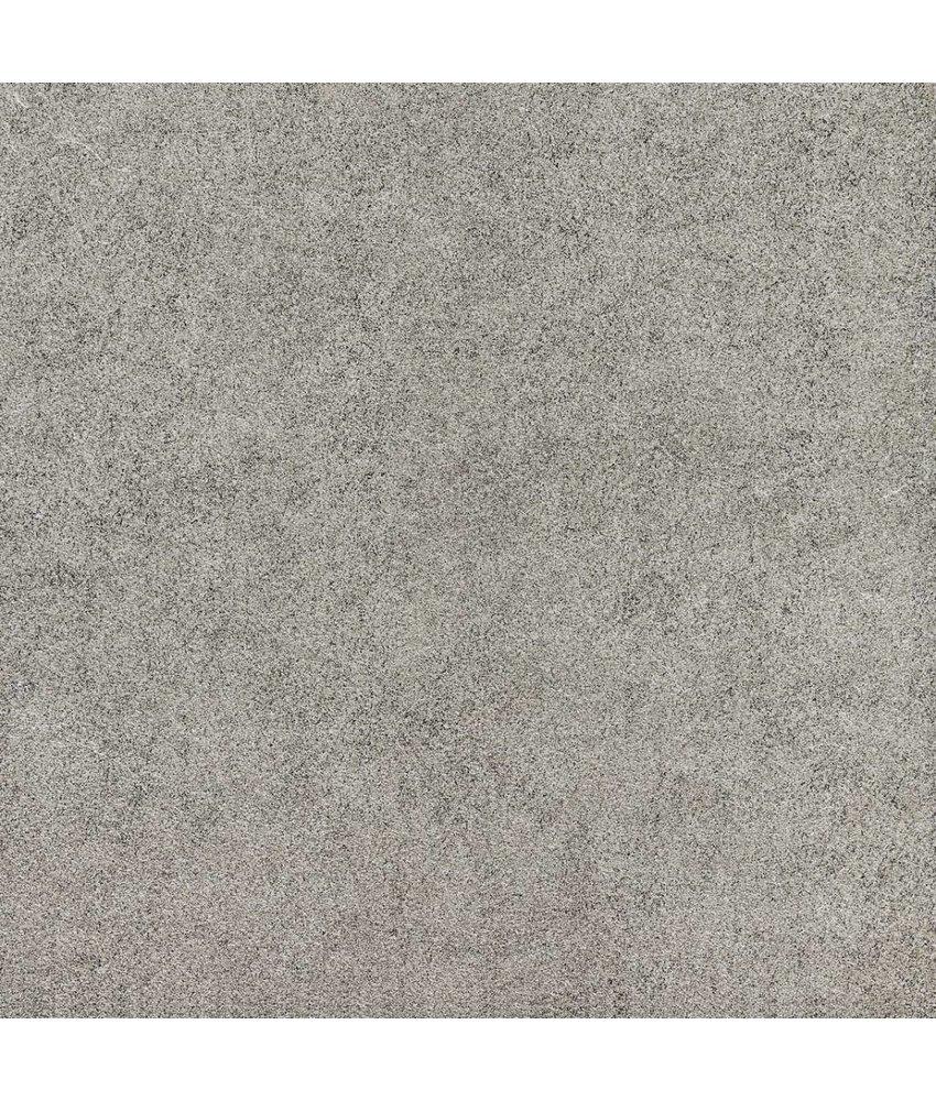 Terrassenplatten - TERRA Quartz Tessin grigio - 60x60x2 cm