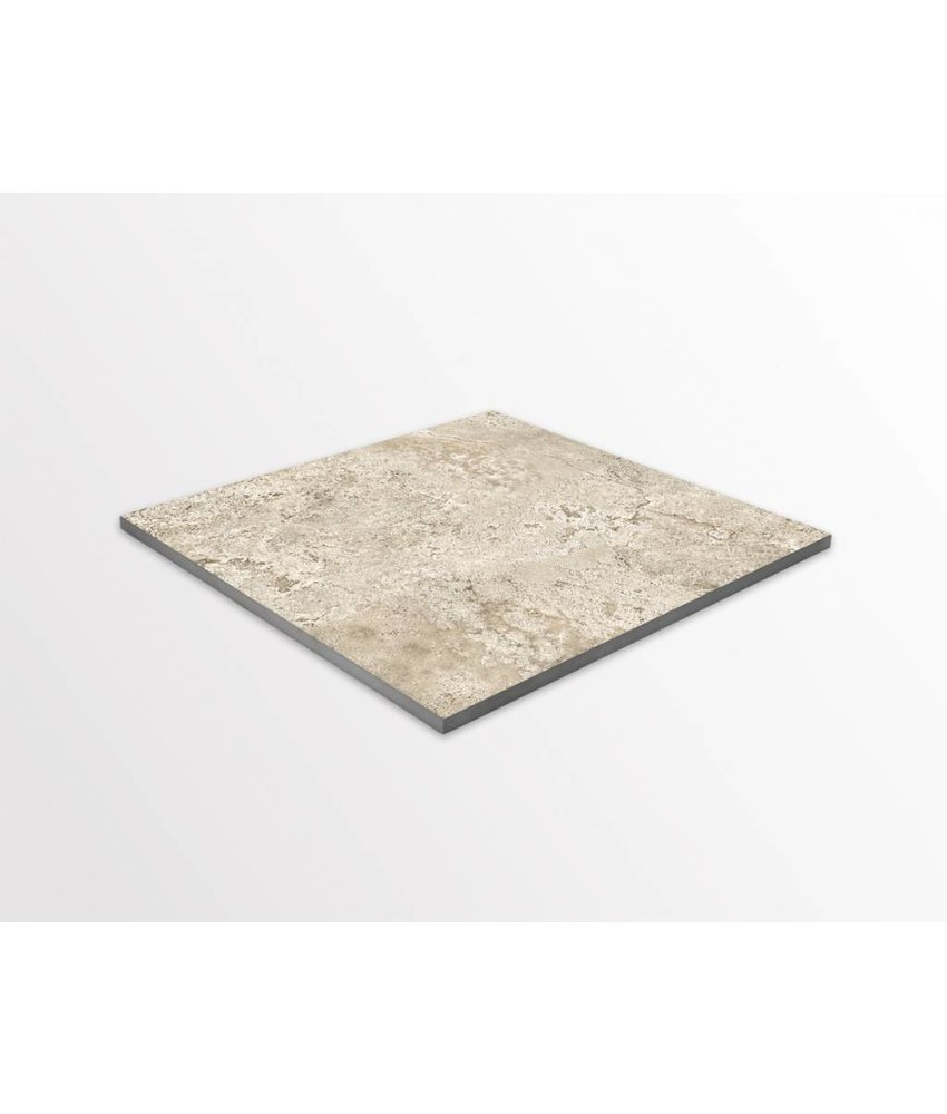 Terrassenplatten - TERRA Texture Castle beige - 60x60x2 cm