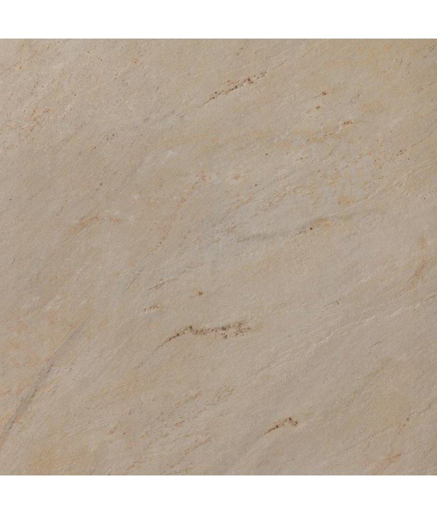 Terrassenplatten - TERRA Sandstone Natural beige - 80x80x2 cm