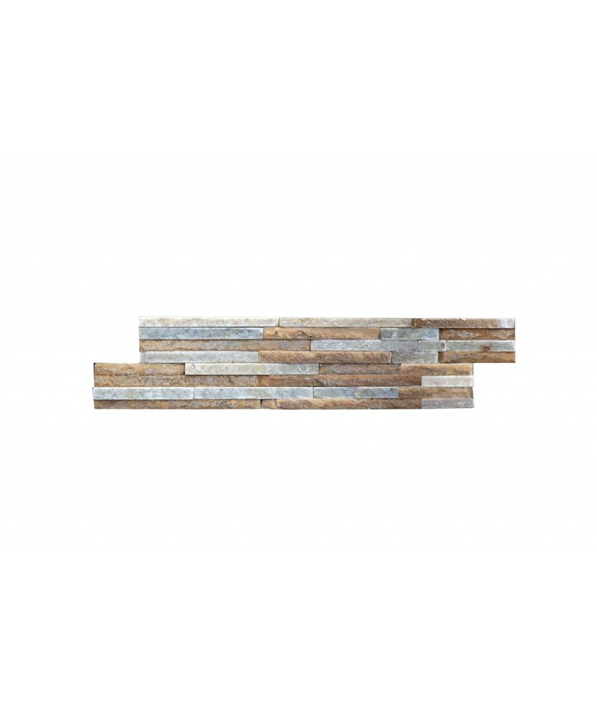 Brickstones - DESIERTO rods sand/ white mix - 15x40 cm