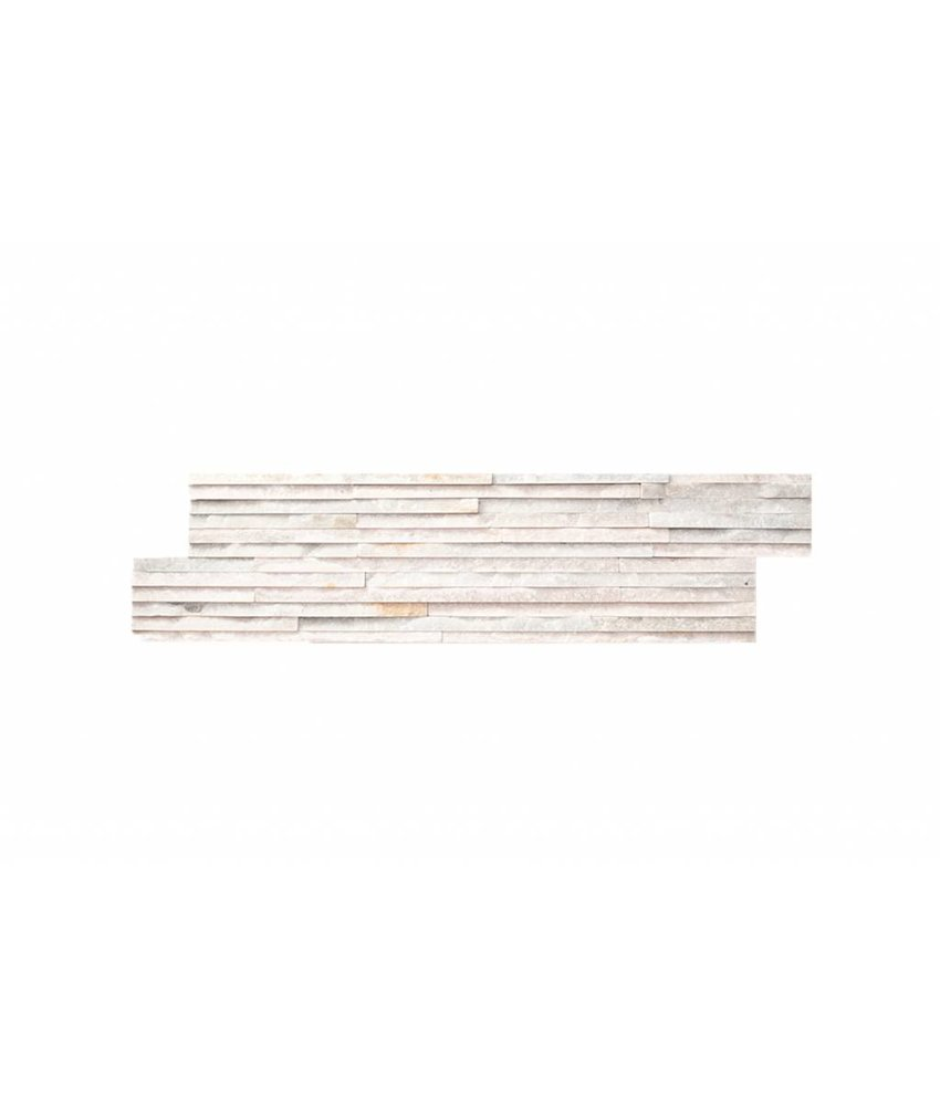 Brickstones - NOBLE mini-rods white - 15x55 cm