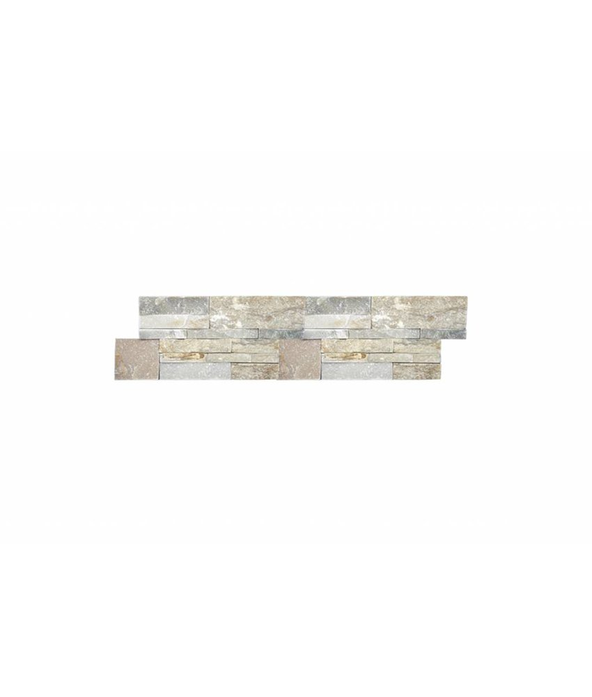 Brickstones - MILANO beige/ grau Mix - 18x35 cm