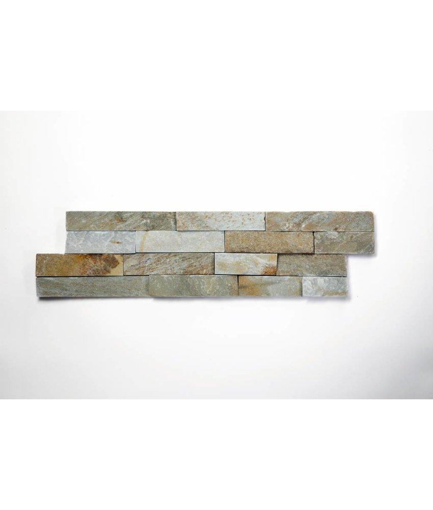 Brickstones - Schiefer beige (1,5-2,5 cm) - 15x55 cm
