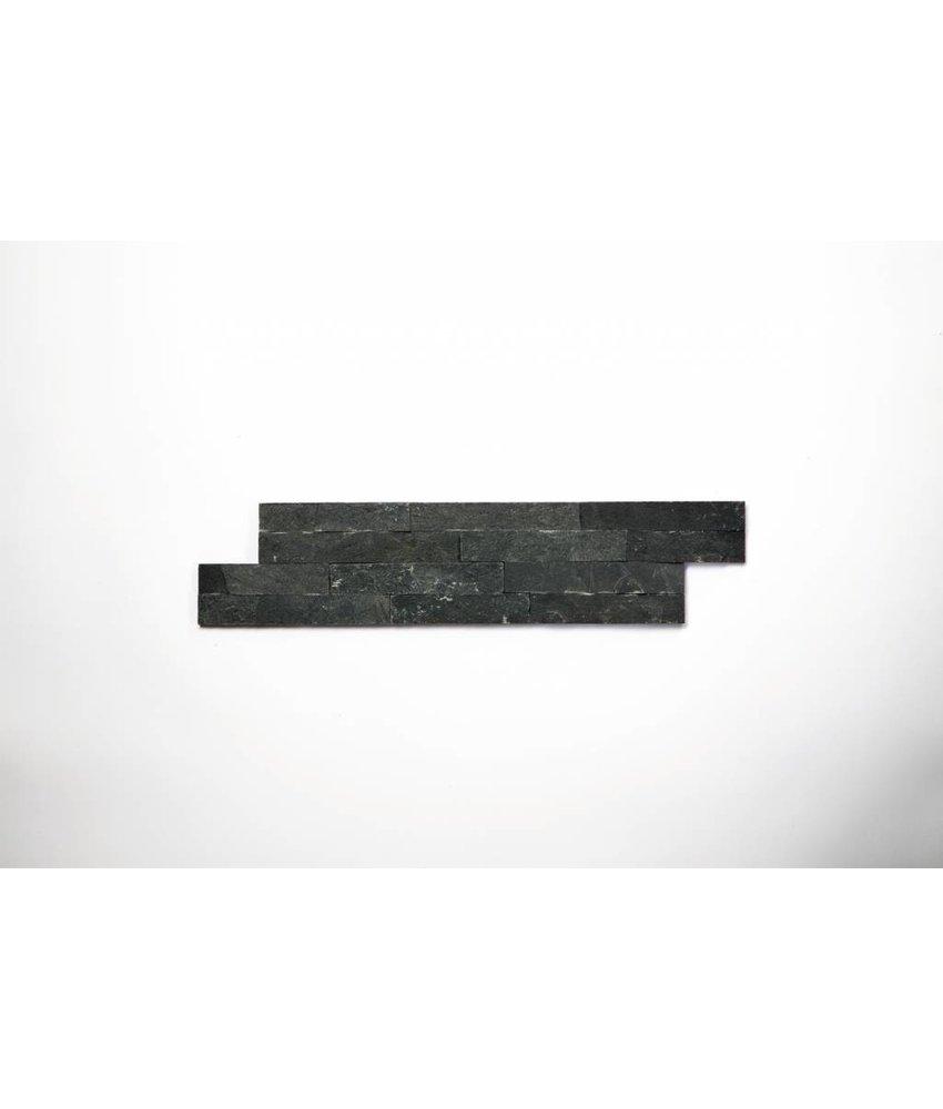 Brickstones - Schiefer nero (0,7-1 cm) - 10x40 cm