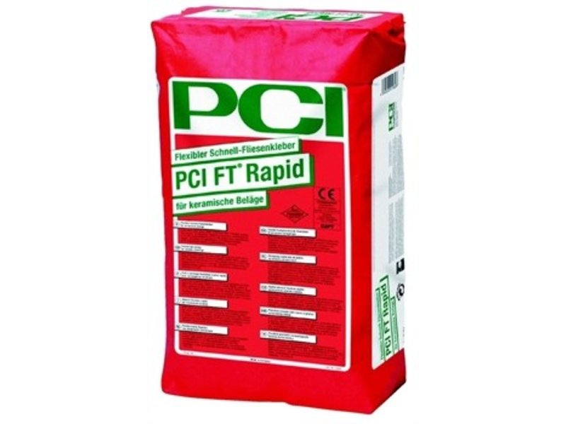 pci ft rapid schnell fliesenkleber 25kg grau mosaic outlet. Black Bedroom Furniture Sets. Home Design Ideas